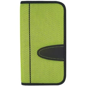 Eclipse Mesh Travel Wallet with Zipper for Marketing