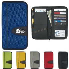 Eclipse Mesh Travel Wallet with Zipper