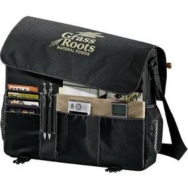 Custom Eco 51% Recycled Owl Business Messenger Bag