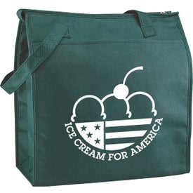 Monogrammed Eco Carry Insulated Shopping Bag