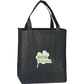 Logo Eco Carry Large Shopping Bag