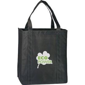 Logo Eco Carry Large Shopping Bag