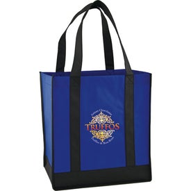 Eco Carry Two Tone Shopping Bag for Marketing