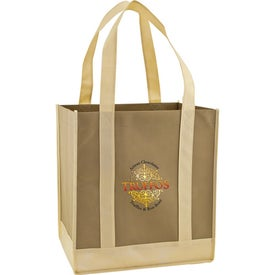 Eco Carry Two Tone Shopping Bag for Promotion