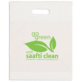 "Eco Die Cut Handle Bag (15"" X 19"" X 3"")"