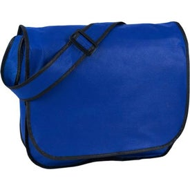 Printed Eco-Friendly Non Woven Messenger Bag
