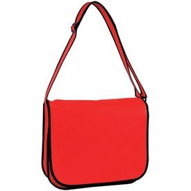 Eco-Friendly Non Woven Messenger Bag (Standard)