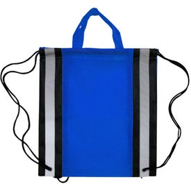 Eco Friendly Safety Backpack with Reflector Stripe for Your Organization