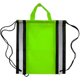 Customized Eco Friendly Safety Backpack with Reflector Stripe
