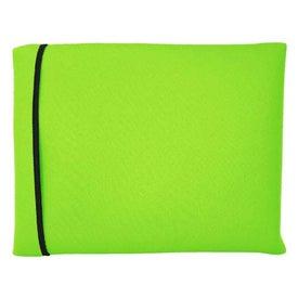 Eco Wraptop Scuba Foam Laptop Sleeve for Marketing