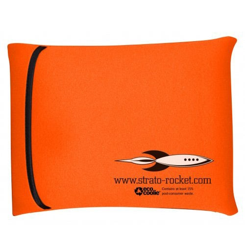 Bright Oraange Eco Wraptop Scuba Foam Laptop Sleeve