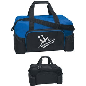 Econo Duffel Bag with Your Slogan