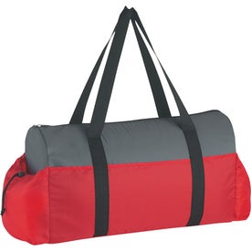 Promotional Two-Tone Econo Duffel Bag