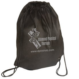 Branded Econo Non-Woven String Backpack - 80GSM