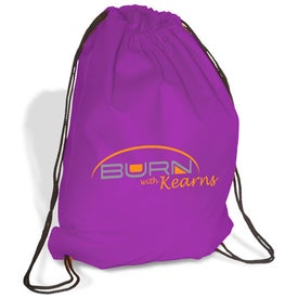 Promotional Econo Non-Woven String Backpack - 80GSM