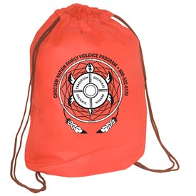 Econo Non-Woven String Backpack - 80GSM for Your Organization
