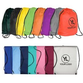 Imprinted Econo Non-Woven String Backpack - 80GSM