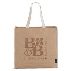 EcoSmart Recycled Paper Non Woven Large Shopper