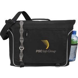 Imprinted Edge Compu-Messenger Bag