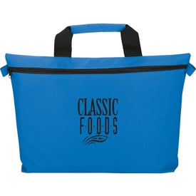 The Edge Document Business Bag with Your Slogan