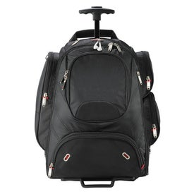 Elleven Wheeled Security Friendly Compu Backpack with Your Logo