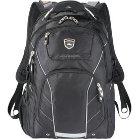 Printed High Sierra Elite Fly-By Compu-Backpack