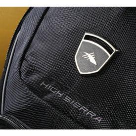 Printed High Sierra Elite Fly-By Compu-Backpack