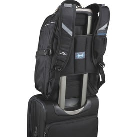 High Sierra Elite Fly-By Compu-Backpack with Your Slogan