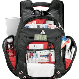 Imprinted Elleven Amped Checkpoint-Friendly Compu-Backpack