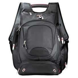 Imprinted Elleven Checkpoint-Friendly Compu-Backpack