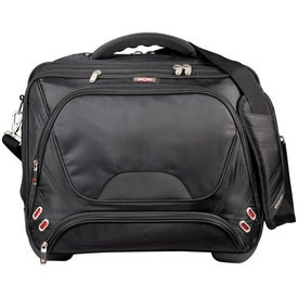 Elleven Checkpoint-Friendly Wheeled Compu-Case Imprinted with Your Logo