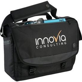 """Elleven Evolve 15"""" Computer Messenger Bag"""