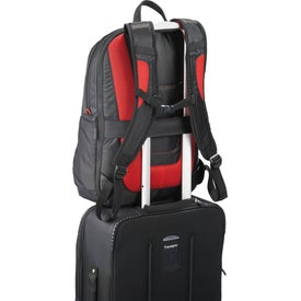 Elleven Mobile Armor Compu-Backpack Imprinted with Your Logo