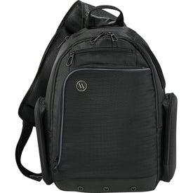Printed Elleven Mobile Armor Compu-Sling Backpack