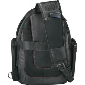 Advertising Elleven Mobile Armor Compu-Sling Backpack