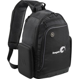 Elleven Mobile Armor Compu-Sling Backpack Printed with Your Logo