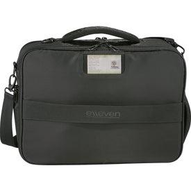 Elleven Vapor Checkpoint-Friendly Attache Bag for Promotion