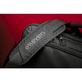 Elleven Vapor Checkpoint-Friendly Attache Bag Printed with Your Logo