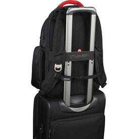 Elleven Vapor Checkpoint-Friendly Compu-Backpack Imprinted with Your Logo