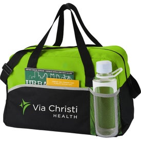 The Energy Duffel Bag Printed with Your Logo