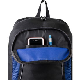 Escapade Backpack Imprinted with Your Logo