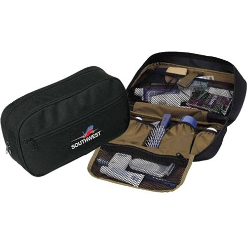 Black / Khaki Essentials Toiletry Case