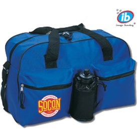 Logo Essential Fitness Bag with Bottle