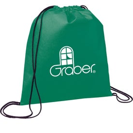 Evergreen Drawstring Backpack for Your Company
