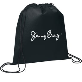 Evergreen Drawstring Backpacks