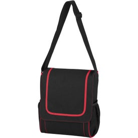Imprinted Everyday Compact Carry All Messenger Bag
