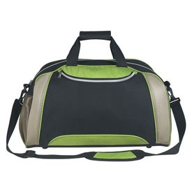 Excel Duffel Bag with Your Slogan