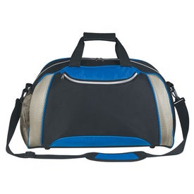Printed Excel Duffel Bag
