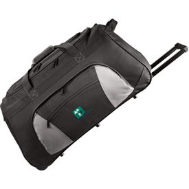 "Printed Excel 26"" Wheeled Travel Duffel"