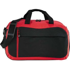 """Excel Sport 18"""" Duffel with Your Slogan"""